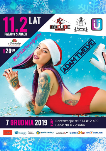 7.12.2019 (sobota) - Santa Claus Party vol.2