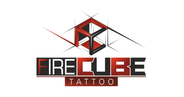Fire Cube Tattoo