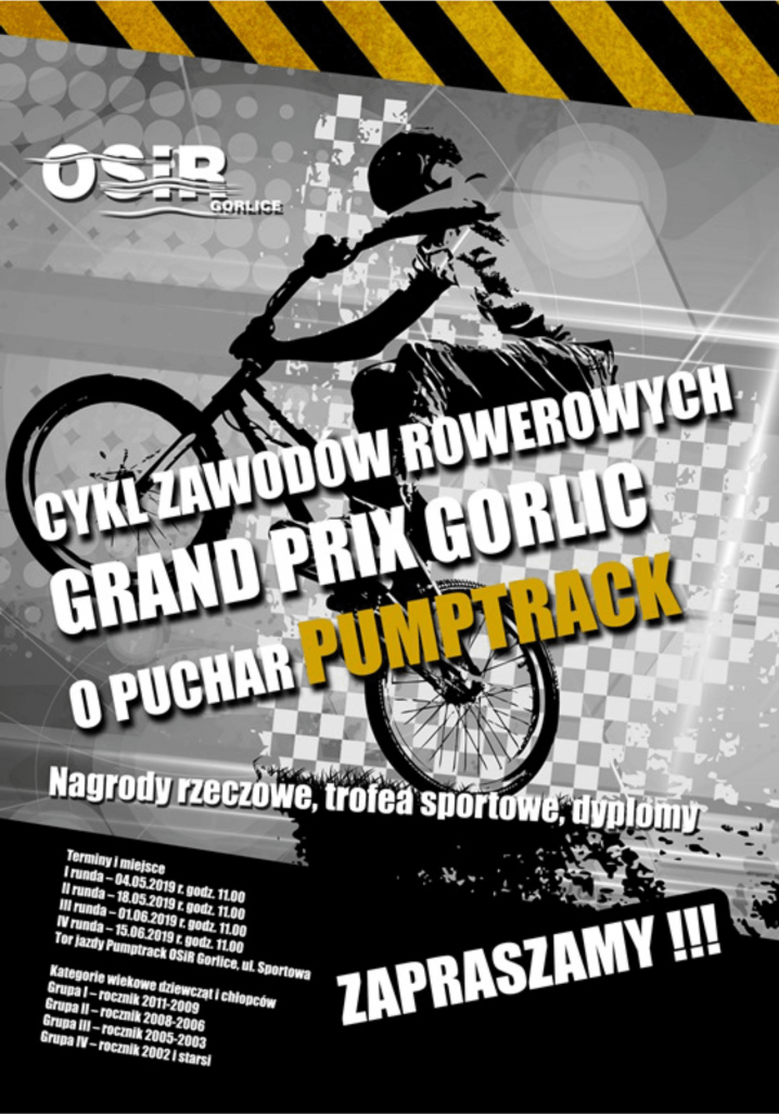 Grand Prix Gorlic o puchar Pumptrack!